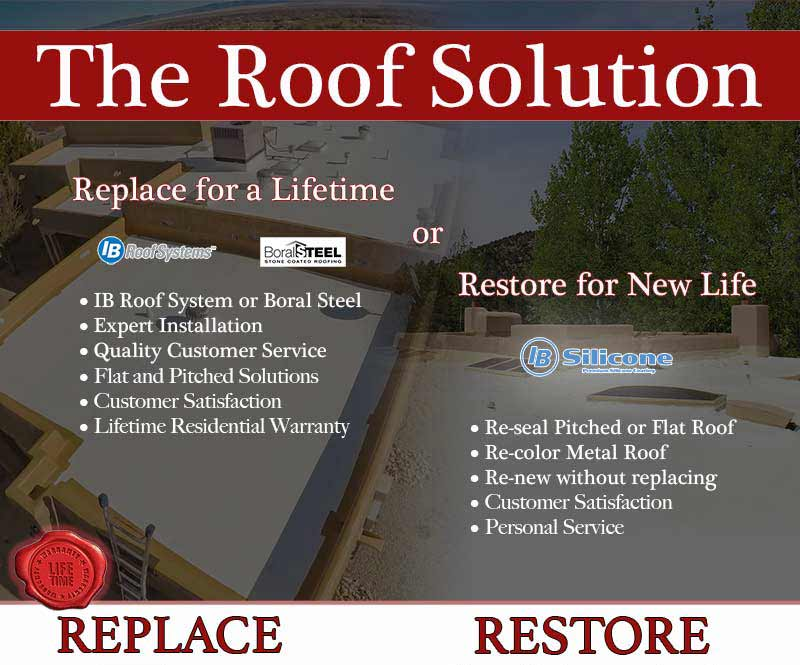 The Roof Solution - Restore or Replace